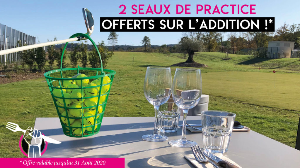 OFFRE TEE TIME ET PRACTICE