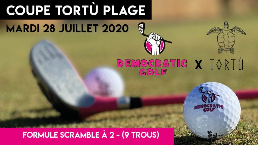 COUPE DE LA TORTU - DEMOCRATIC GOLF - 28072020